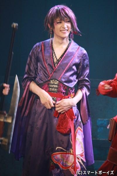 アゲハ役の神里優希さん