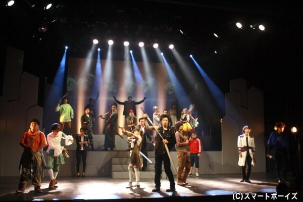 個性豊かなヒーロー&ダーティヒーローが激突、舞台『good and evil』上演中!