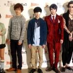 (左から)田畑亜弥さん、鈴木勝吾さん、松田凌さん、佐々木喜英さん、村田充さん