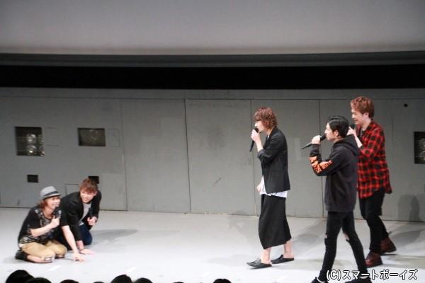 解答権が欲しいがために、土下座をする加藤さんとKimeruさん