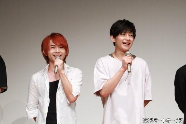 初共演となる橋本さん&深澤さんの純真トークは見逃せません!