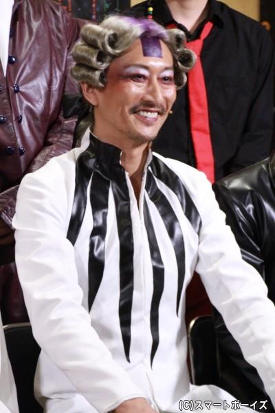 ラングレン役[シマシマグモ]の萩野崇さん