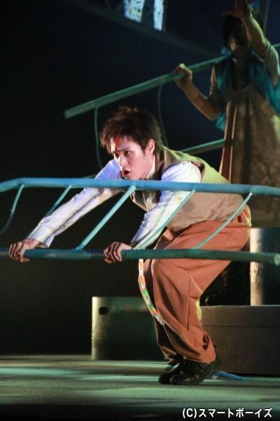ハシゴをセミの羽根に見せるところが西田シャトナーさんならではの演出