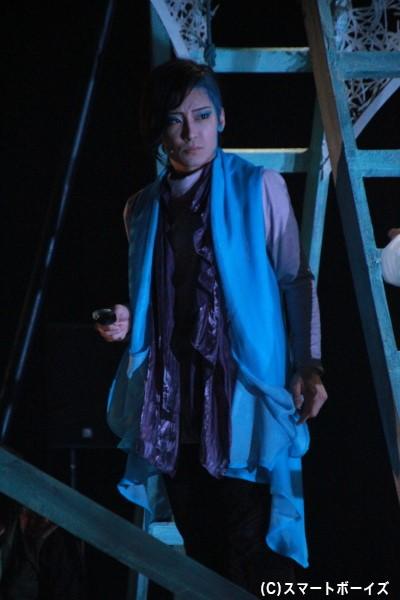 ヘンリー役[アルミタテハチョウ]の丸目聖人さん