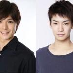 (左から)遊馬晃祐さん、秋沢健太朗さん