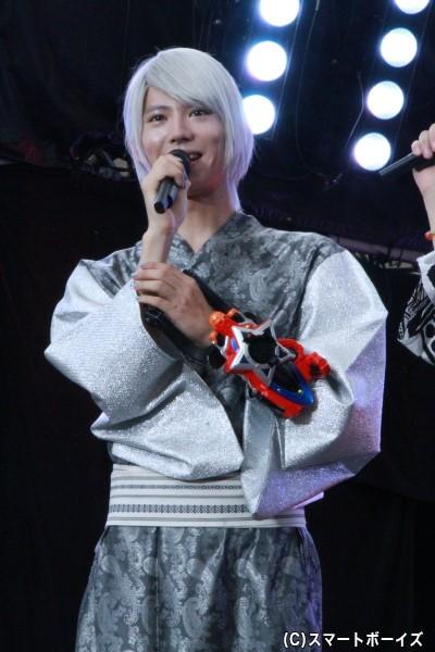ヘビツカイシルバー/ナーガ・レイ役の山崎大輝(やまざき たいき)さん
