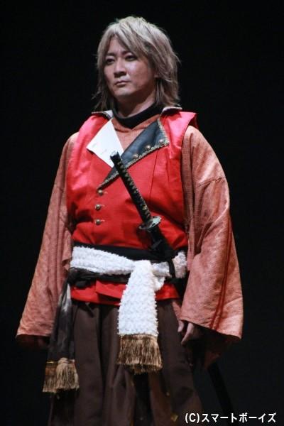 木下秀吉役の町田慎吾さん