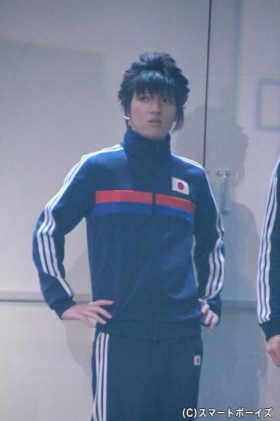 立花和夫役の廣野凌大さん