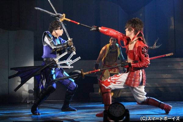 好敵手・伊達政宗と真田幸村。二人のバトルには心が躍ります!