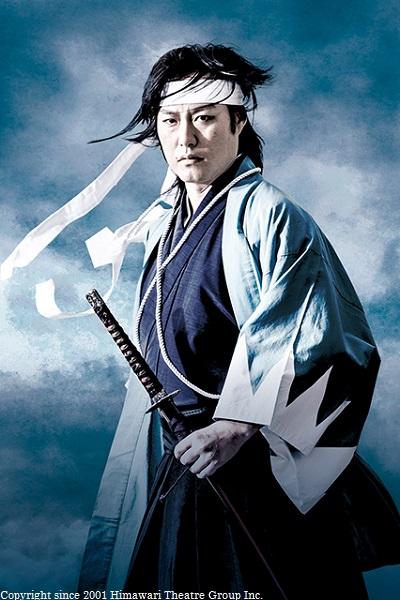 井上源三郎役の青木 威さん