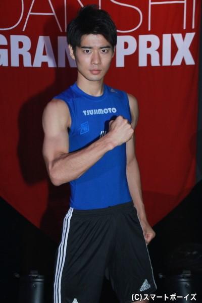 背筋力196kgは、全出場者でNo.1の辻本さん