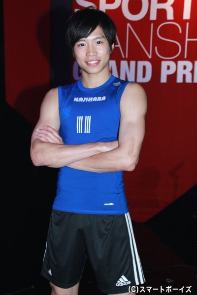 梶原さんの100m自己ベストは「10秒98」