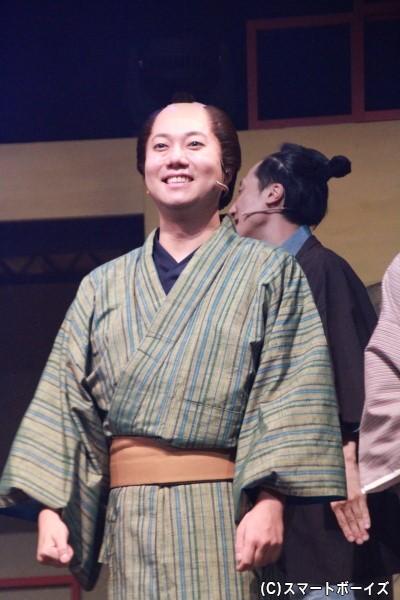 与吉役の石井智也さん
