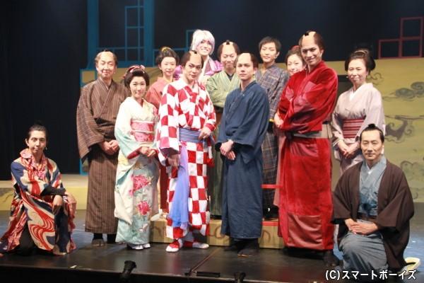 気分がホッコリとなるお江戸ミュージカルが開幕!
