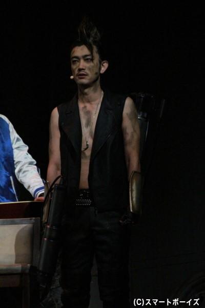 日替わりゲストもザコ役で出演。ゲネプロでは谷口賢志さんが登場