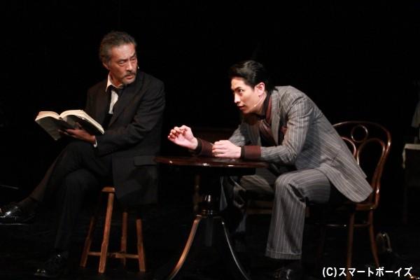 実力派俳優・福井貴一さんと伊万里さんによる迫真の演技