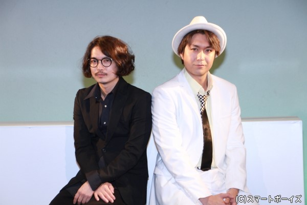 大山真志さん(右)と山本タクさん(左)