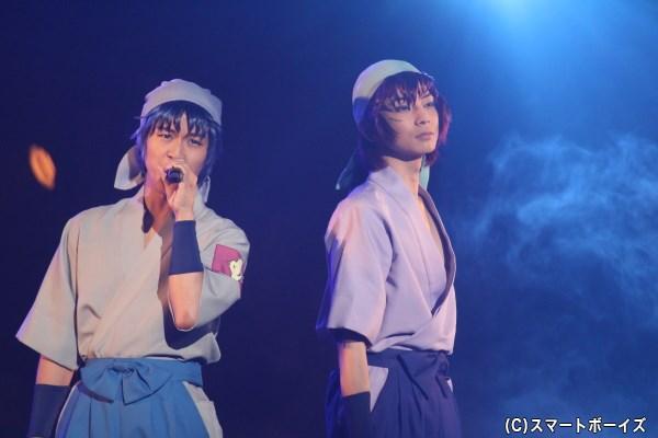 重(左:倉本発さん)と舳丸(右:橘龍丸さん)のハーモニーにキュン♡