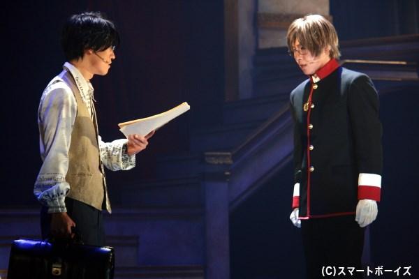 第三王子のブルーノ(右・安達勇人さん)には、自身の夢へと関わる転機が訪れる