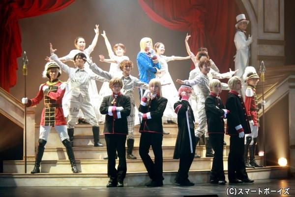 人気ロイヤルコメディがアニメから舞台へ、『王室教師ハイネ-THE MUSICAL-』開幕!