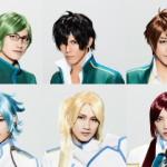 舞台オリジナルキャラクター10名のビジュアル解禁!