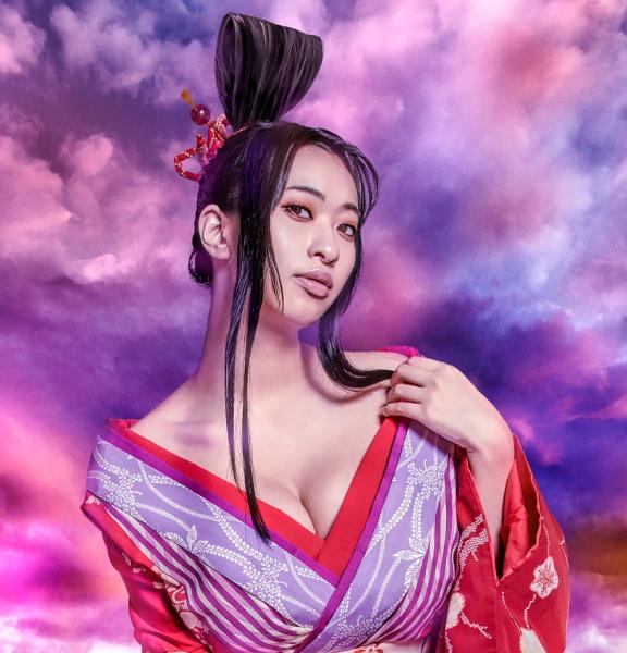 倉持由香さん 薄雲役…京の遊郭の遊女