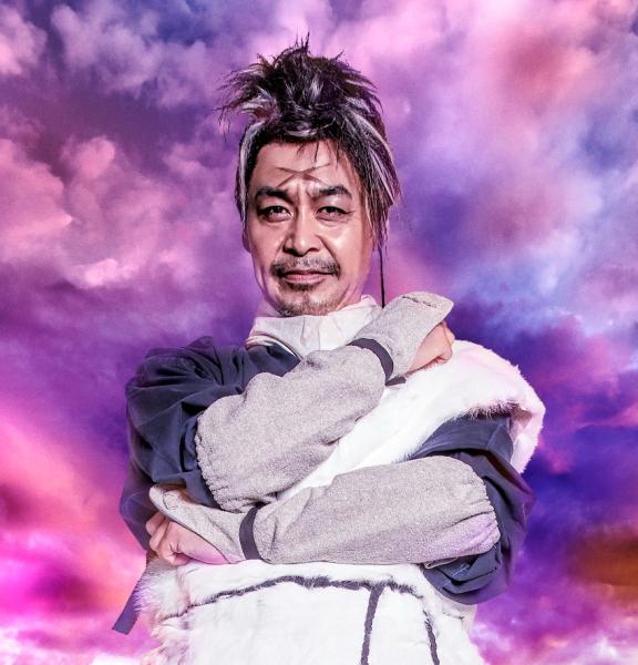 鈴木健介さん 白雲役…上杉謙信に仕えた老忍び