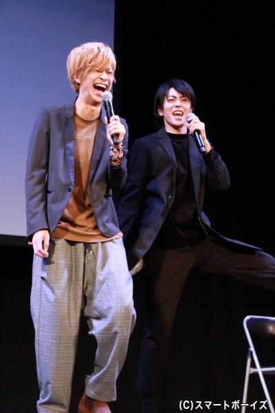 """赤澤さんとの再現""""熱演""""で台湾語を披露した廣瀬さんでしたが、1回目では通じず……"""
