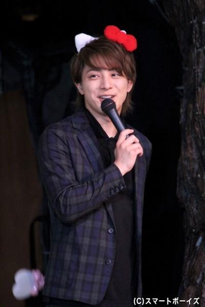 カミオ役の米原幸佑さん