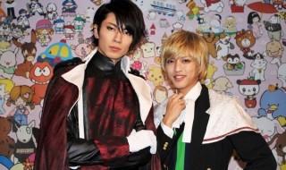 イベントを終えた直後の鮎川太陽さん(写真左)と石渡真修さん(右)をパチリ☆