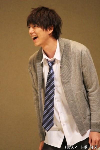 エロで頭がいっぱい・生方英(なめかたすぐる)役の小松準弥さん