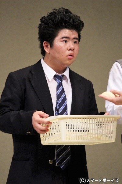 スイサンズのリーダー格・須永宇宙期(すながそらき)役の前田航基さん