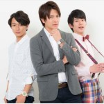 (左から)山木透さん、財木琢磨さん、阿部快征さん。キャラビジュアルからすでに個性爆発!