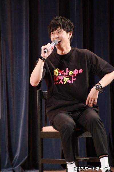 田中役の寺山武志さん