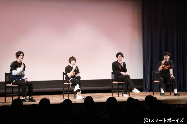MC高崎さんの無茶ぶりや出演者による楽しいトークで、イベント中はほぼ笑いっぱなしでした!