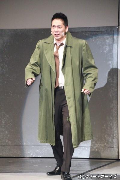 糸鋸圭介役の磯貝龍虎さん