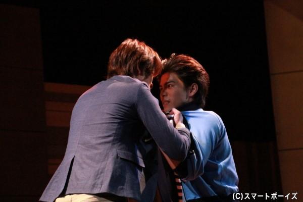 親友同士の恩田と神崎が衝突。いったい何が!?