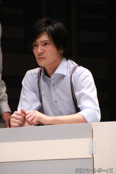 新村薫役の上田堪大さん