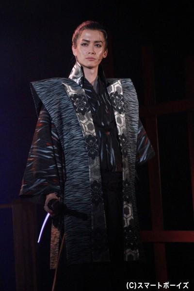 家康の忍び・下坂左玄役の小野健斗さん