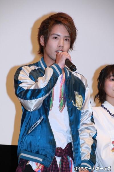仮面ライダークローズ/万丈龍我役の赤楚衛二さん