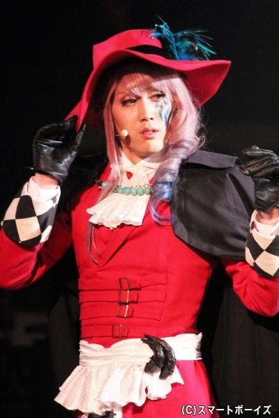 ジル・ド・レイ役の碕理人さん