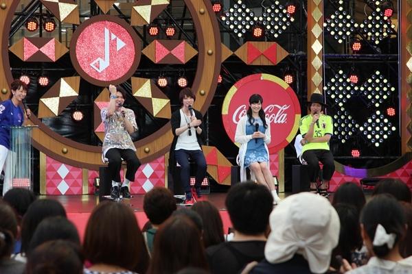 テレビ朝日SUMMER STATIONで開催されたトークショーの映像を上映!