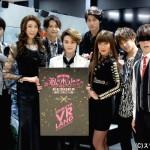 (左から)松井勇歩さん、大林素子さん、三浦海里さん、古屋敬多さん、小坂涼太郎さん、LiLiCoさん、米原幸佑さん、緒方雅史さん[甘王]
