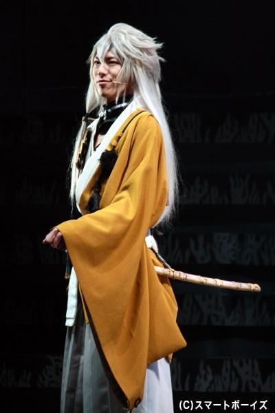 小狐丸役の北園 涼さん