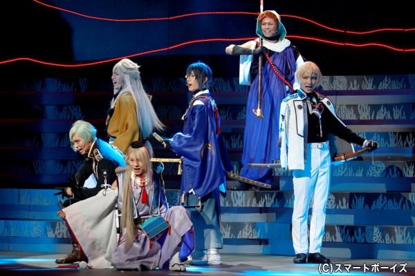 髭切・膝丸が刀ミュへ初出陣、ミュージカル『刀剣乱舞』 ~つはものどもがゆめのあと~開幕!