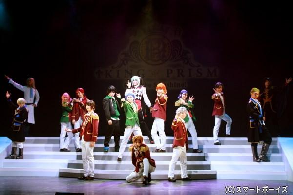 大成功の大阪公演に続き、舞台「キンプリ」東京公演が開幕!