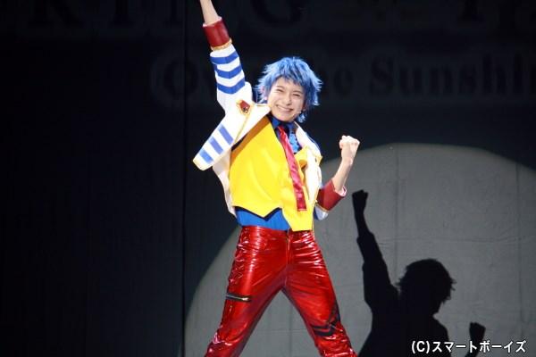 Over The Rainbowのプリズムショーに憧れ、プリズムスタァを目指す一条シン(橋本祥平さん)