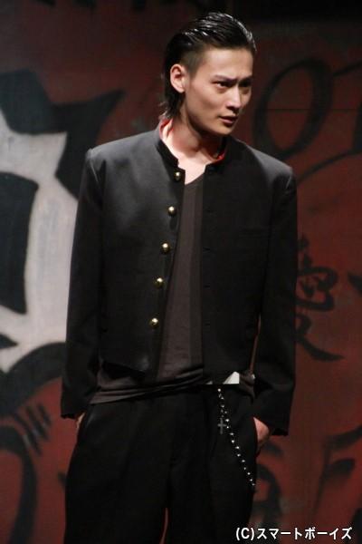 滝谷源治役の松本大志さん