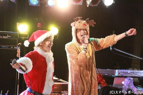 2人の激レアセッションは、まさに彼らからファンへのクリスマスプレゼント