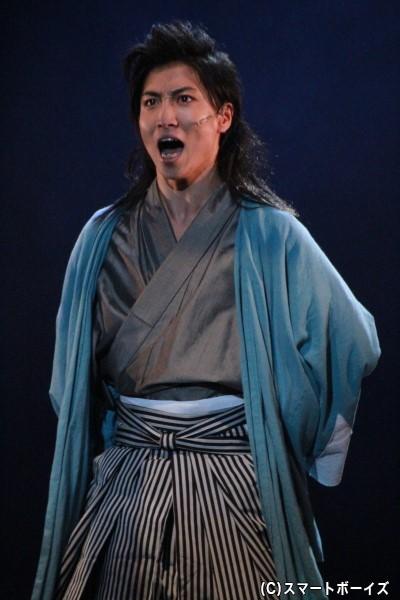 近藤勇役の山本誠大さん